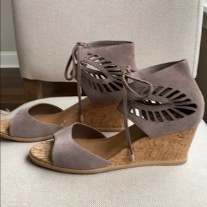Dolce Vita Linsey Lace-Up Wedge Sandal